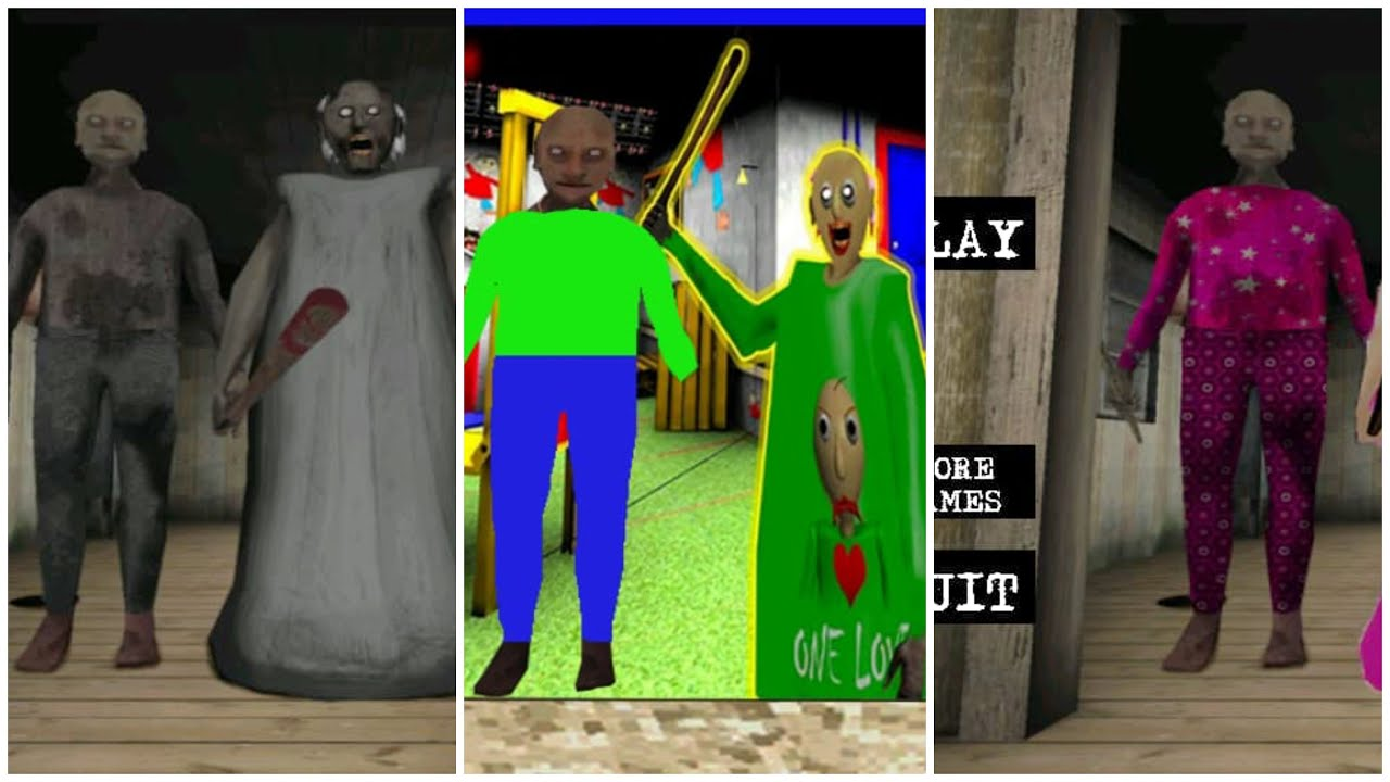 Download GRANNY CHAPTER TWO VS BARBIE GRANNY VS BALDI GRANNY CHAPTER TWO FULL GAMEPLAY
