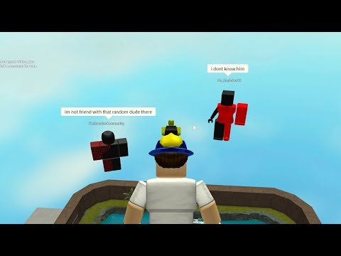 I MADE THE HACKERS CHOOSE WHICH ONE I BAN.. (Roblox Hangout)