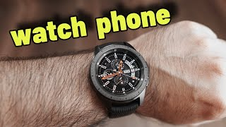 Samsung Galaxy Watch LTE, you can use this like a standalone phone too