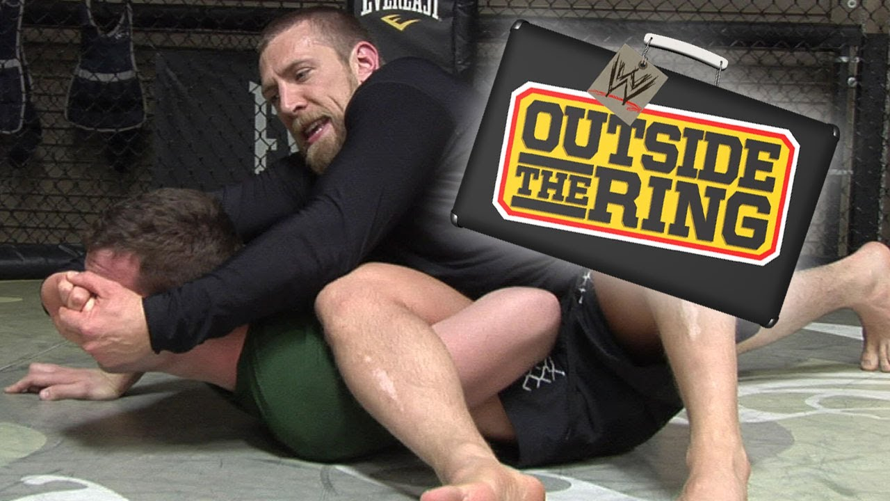 Download Outside the Ring - Hit the mat and grab a vegan cupcake with Daniel Bryan - Episode 3