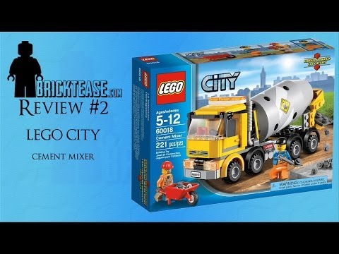 LEGO Review - Cement Mixer 60018