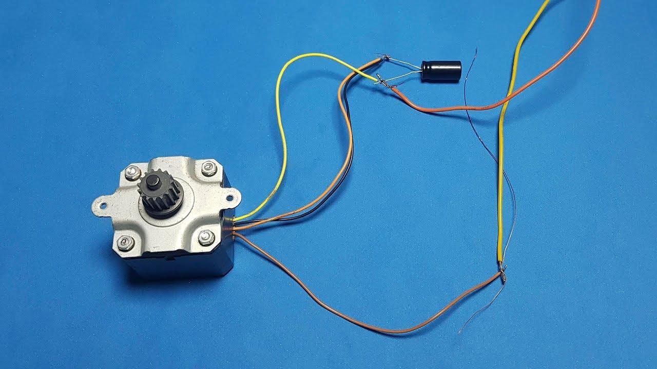Motor paso a paso con cable