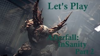 Free PC Third Person Survival Horror Shooter Game Afterfall InSanity Finite Keys Lets Play Part 2
