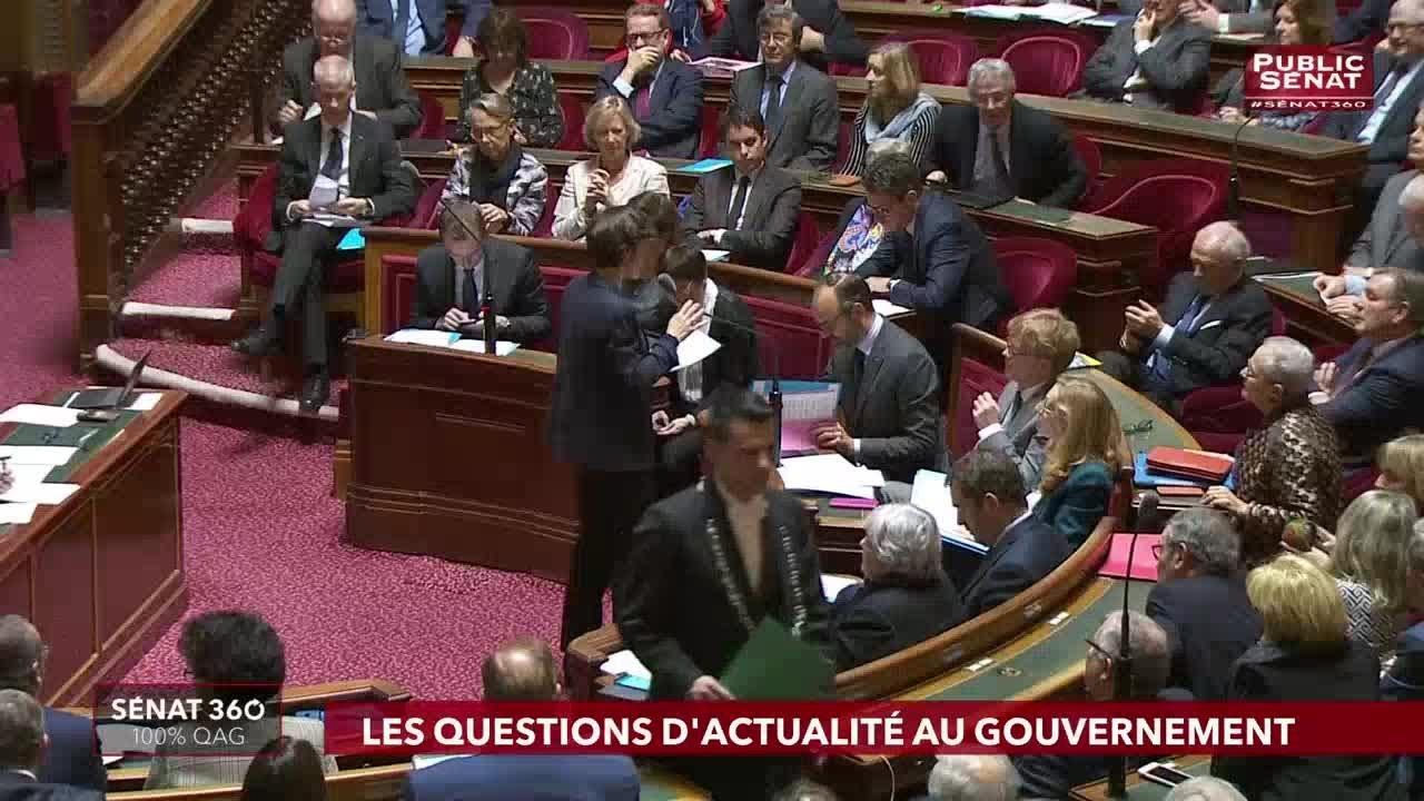 Sénat 360, 100% Questions d'actualité au Gouvernement (17/01/2019)
