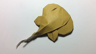 How to make Origami Sting Ray - PaperPh2