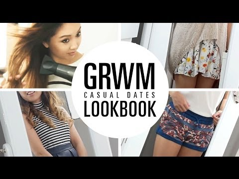 GRWM - Casual Dates Lookbook | Curl Secret