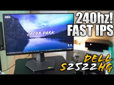 DELLS NEW BEST BUDGET GAMING MONITOR | DELL S2522HG REVIEW