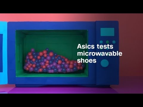 Asics wants to build your shoes in the microwave