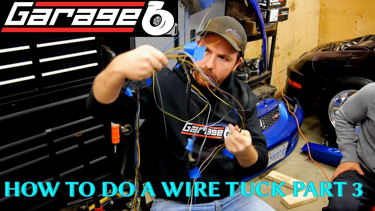 Garageb How To Do A Wire Tuck Part 3 Fuse Box Battery Harness 240sx Jelqing