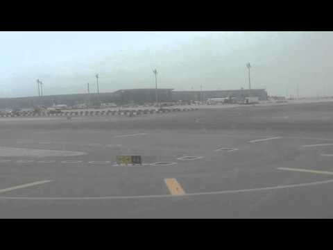 LANDING AT HAMAD  INTERNATIONAL AIRPORT QATAR