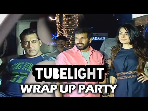 Tubelight WRAP UP Party | Salman Khan, Kabir Khan, Mahesh Manjrekar