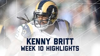 Kenny Britt's 109 Receiving Yards | Rams vs. Jets | NFL Week 10 Player Highlights