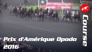 Vidéo de la course PMU PRIX D'AMERIQUE OPODO
