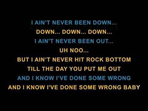 Karaoke Rock Bottom - Babyface