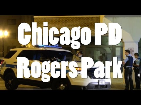 Chicago Police Department Respond to Disturbance in Rogers Park
