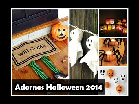 Adornos de halloween 2 youtube - Adornos halloween caseros ...
