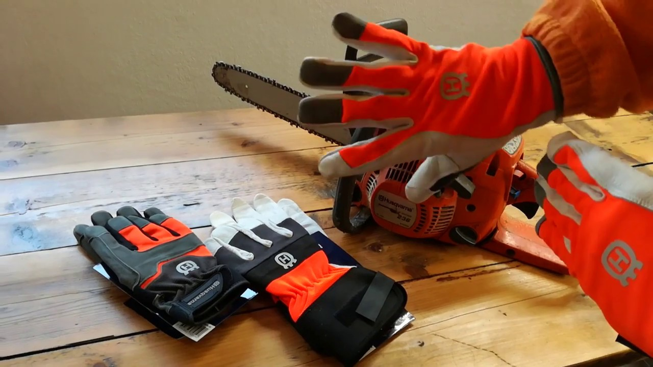 Husqvarna Saw Protection Gloves Technical