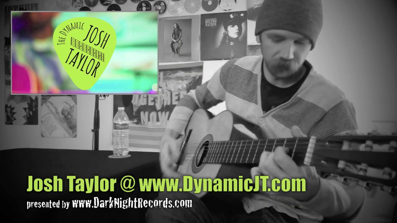 The Dynamic Josh Taylor presented by www.DarkNIghtRecords.com