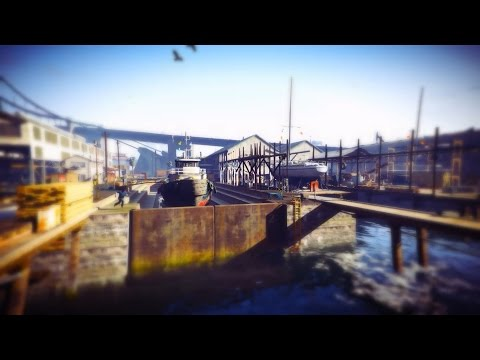 GTAV ASMR (GTAsmr) - Pacific Allied Shipyard on Elysian Island