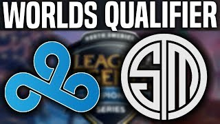 C9 vs TSM Game 3 - NA LCS Worlds Regional Qualifier - Cloud9 vs Team SoloMid G3 | NA LCS Regional