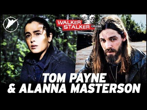 Alanna Masterson & Tom Payne  Walker Stalker Cruise 2018