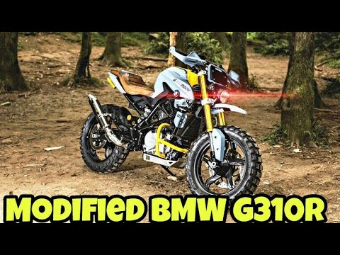 Modified Bmw G310r Into Scrambler By Dkdesign Taiwan Youtube