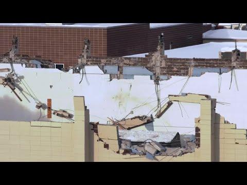 Second gym roof at Montana State University collapses