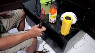 Download Video Drum Elektrik dari benda sehari-hari (KORG Clip-On Drum Portable - Clip Hit) MP3 3GP MP4