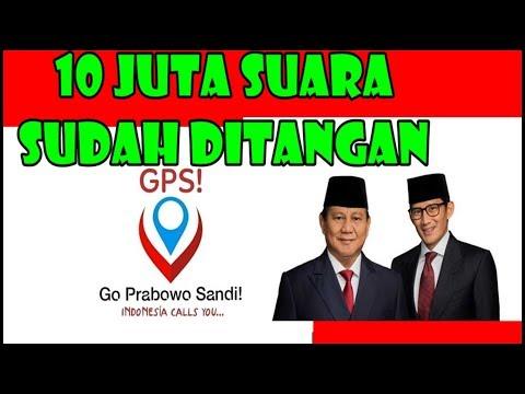 AWAS GPS !! SOLID RAIH JUTAAN SUARA - GENJOT 2019 PRABOWO PRESIDEN !! INI VIDIONYA..