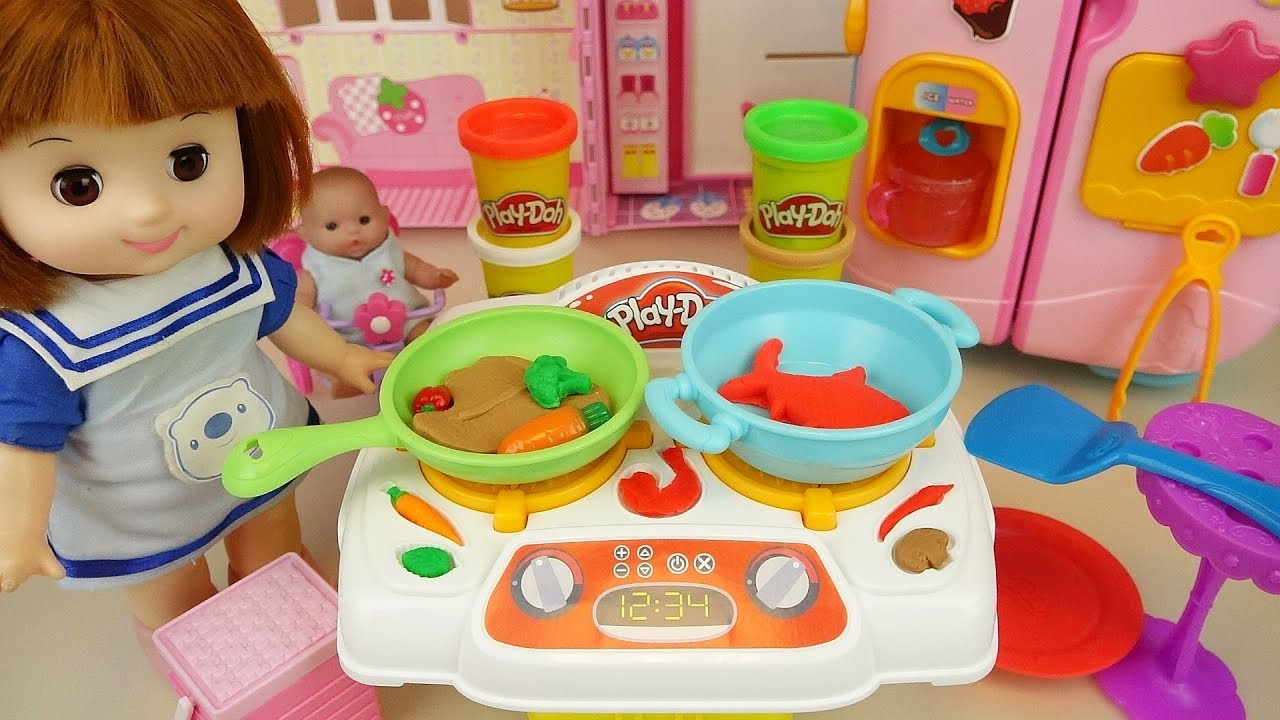 Baby Doll Kitchen And Play Doh Cooking Toys Play Shop Clothing Shoes Online