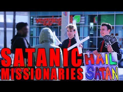 Satanic Missionaries Prank
