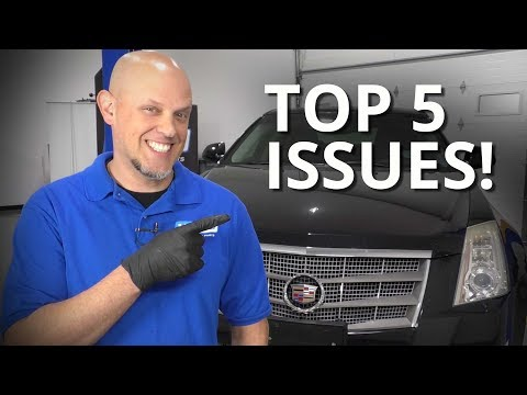 Top 5 Issues With Cadillac CTS