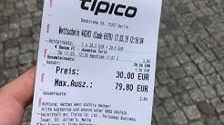 PabloTV Cashout bei Tipico 38,76 Quote getroffen - neuer Wettschein für Sonntag 17.03.19