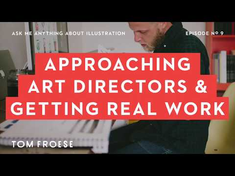 Approaching Art Directors and Getting Illustration Work