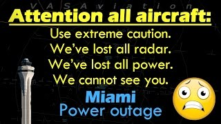 [REAL ATC] FULL LOSS OF POWER at Miami International #KMIA