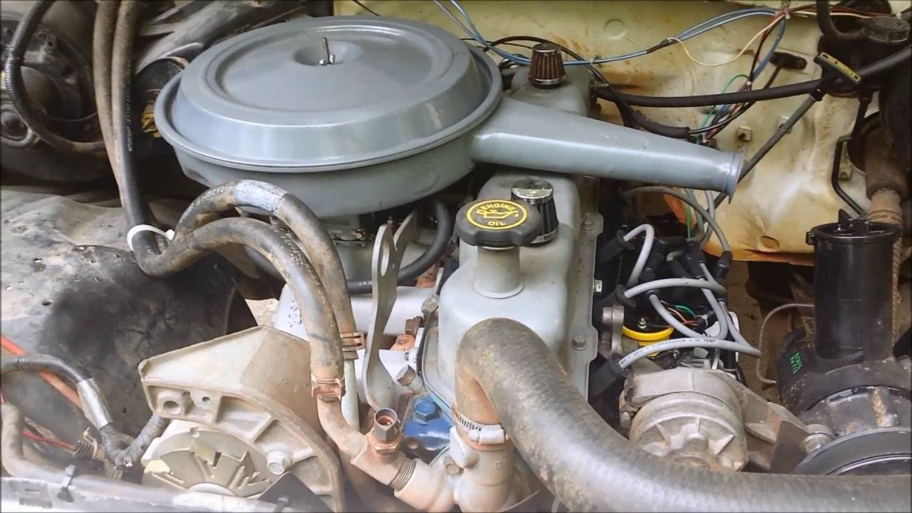 efi to carb on a ford 300 l6  YouTube
