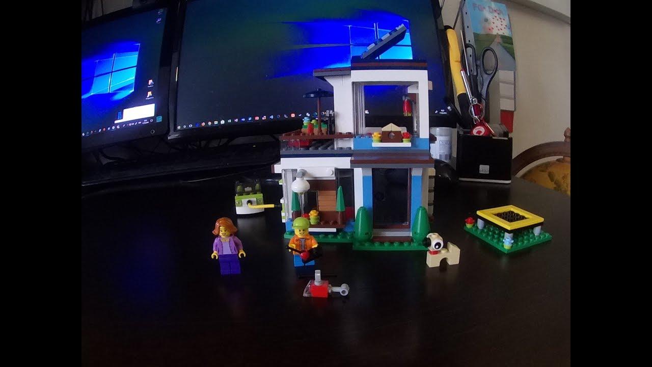 LEGO® CREATOR Modernes Zuhause 31068 Speed Building - YouTube