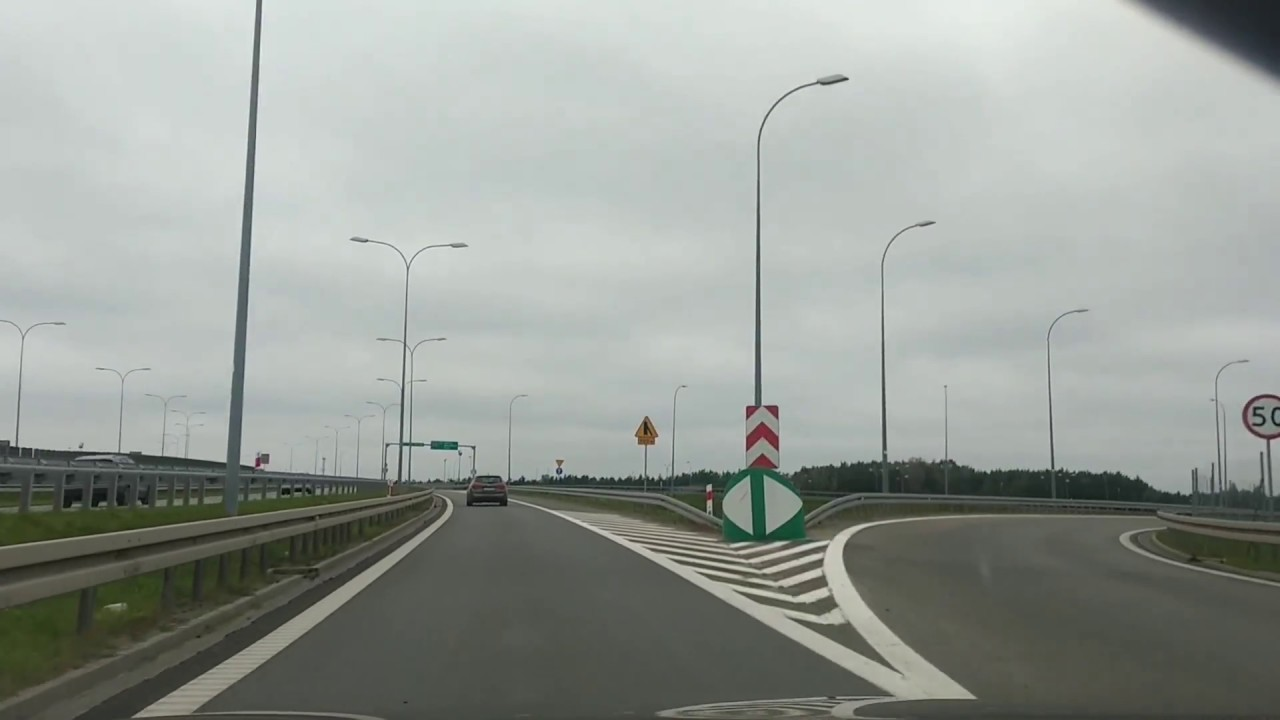 roads in Poland - S10 expressway