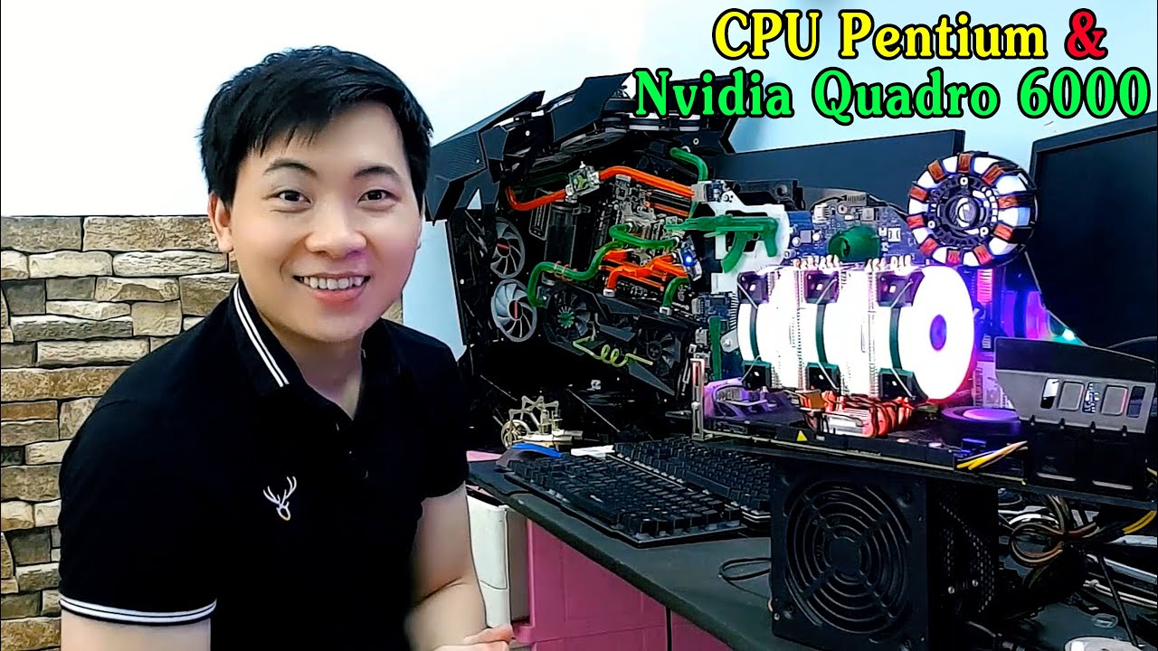 Độ Chế Laptop Cũ Thành Dàn PC Mới | Turn an old laptop into a new PC