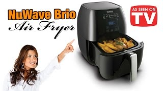 NuWave Brio Air Fryer - AS SEEN ON TV