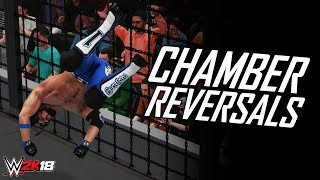 WWE 2K18 *UNIQUE* CHAMBER REVERSALS! (WWE 2K18 Top 10)