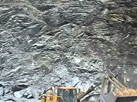 Cantera de pizarra 1 slate quarry 1 carriere d 39 ardoise - Cantera de pizarra ...