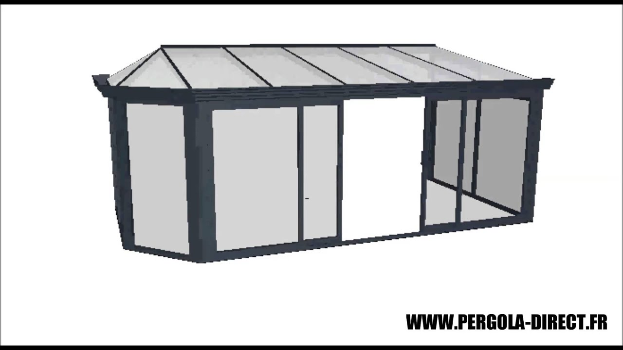 Clikit Pergola Veranda Kit Aluminium Www Pergola Direct Fr Youtube