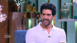 الممثل أحمد مجدي مدرب يوجا في معكم منى الشاذلي