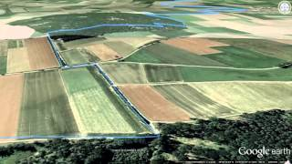 Etappe 01 - Gunzenhausen – Spielberg   Altmühltal Panoramaweg   GPS-Track