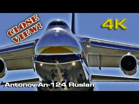 Antonov An-124 Ruslan (Touch & Land)[4K]