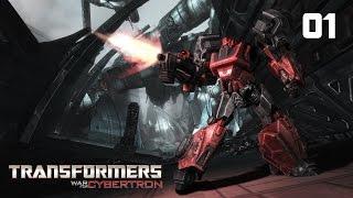 Прохождение Transformers: War for Cybertron - Часть 1: Темный энергон [1/2] (Без комментариев)