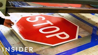 How NYC's Stop Signs Are Made  | The Making Of