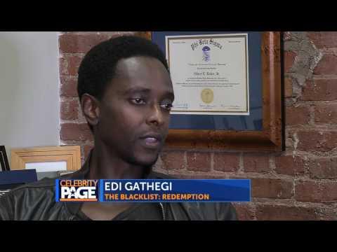 Inside Look at The Blacklist: Redemption with Edi Gathegi
