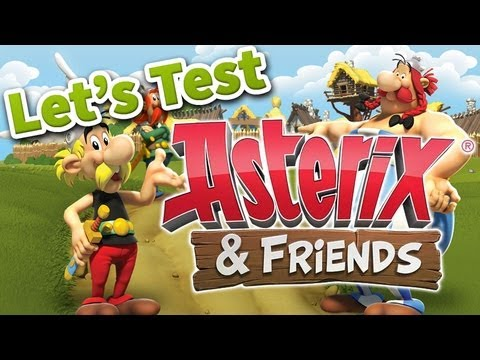 Asterix & Friends Gameplay - German [HD]